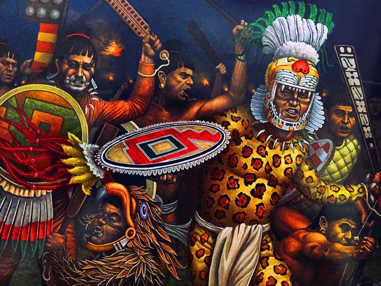 El mito de los guerreros aztecas.