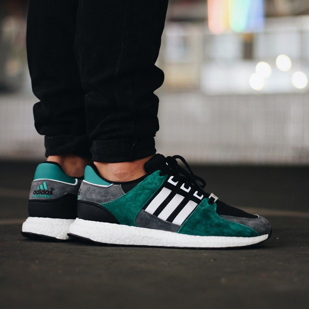 Adidas Originals Equipment Support 9316 core blackftwr whitesub green