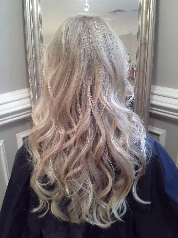 Invidia Blonde Balayage Blonde Highlights Majestic Hair