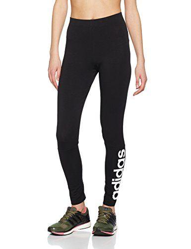 adidas S97155 Leggings de Sport Femme Noir Blanc FR   M (Taille Fabricant   d3cb4a9c980