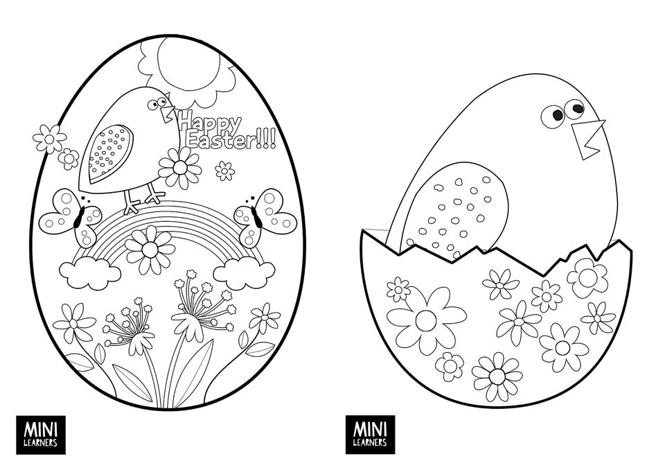 FREE PRINTABLE EASTER COLORING PAGES | Easter colouring, Free ...