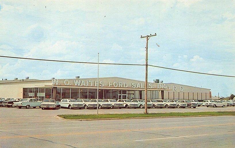 W O Waites Ford Sales Inc Dealership Wichita Falls Texas
