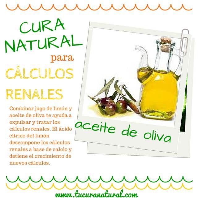 remedios naturales para calculos en el rinon