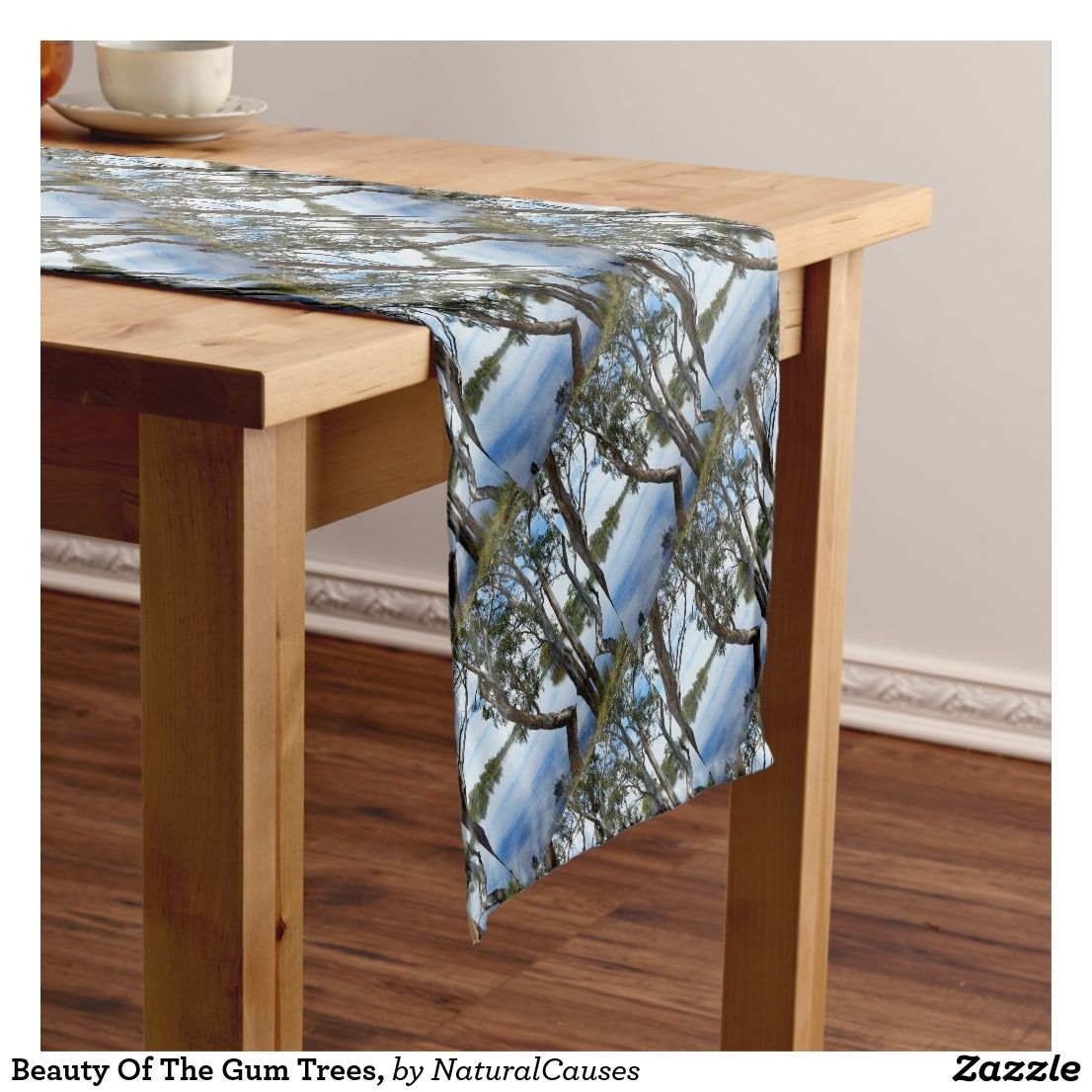 Beauty Of The Australian Gumtree Gum Trees Short Tablerunner Table Table Runners Pretty Tables
