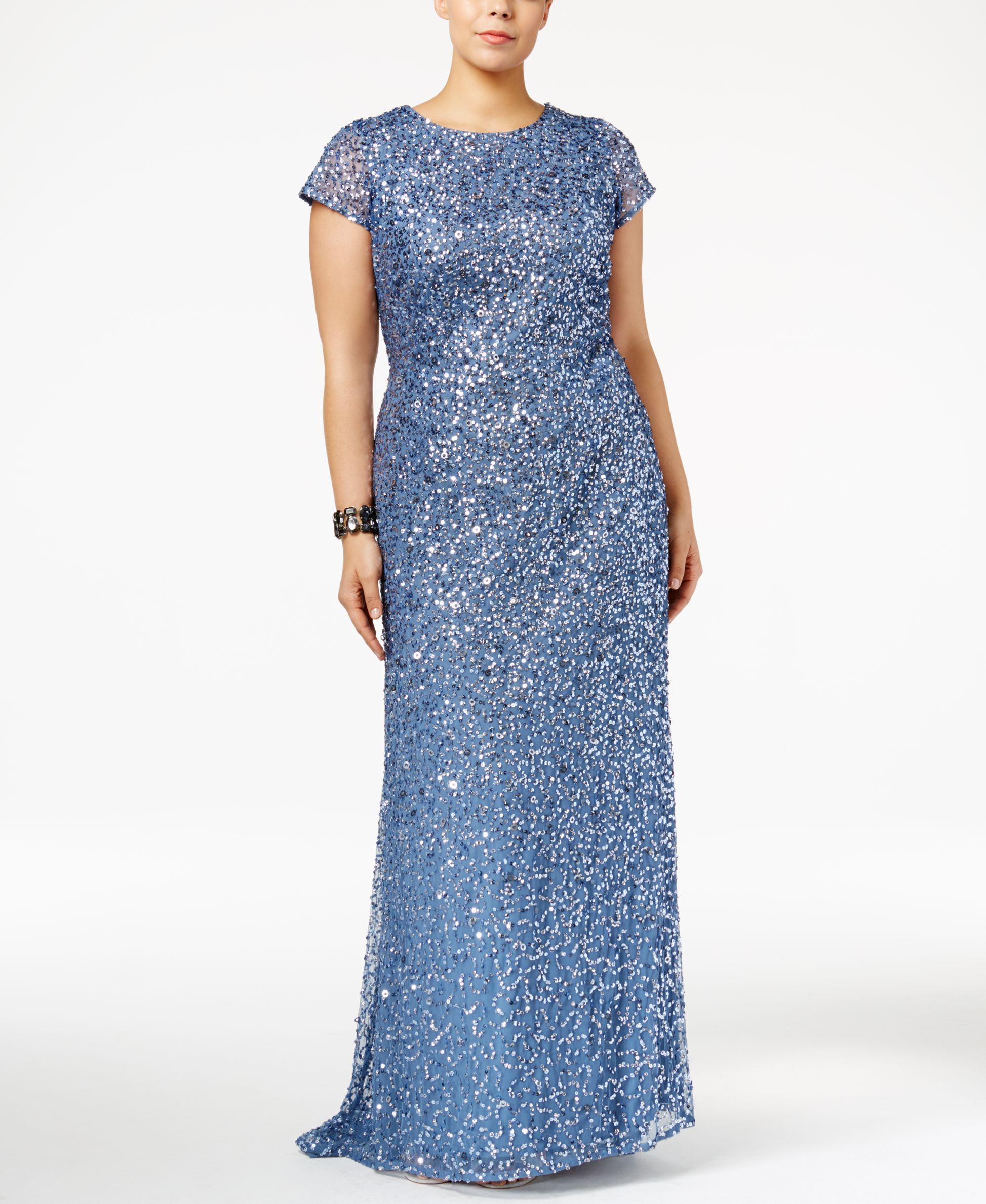 Adrianna Papell Plus Size Embellished Gown | Products | Pinterest ...