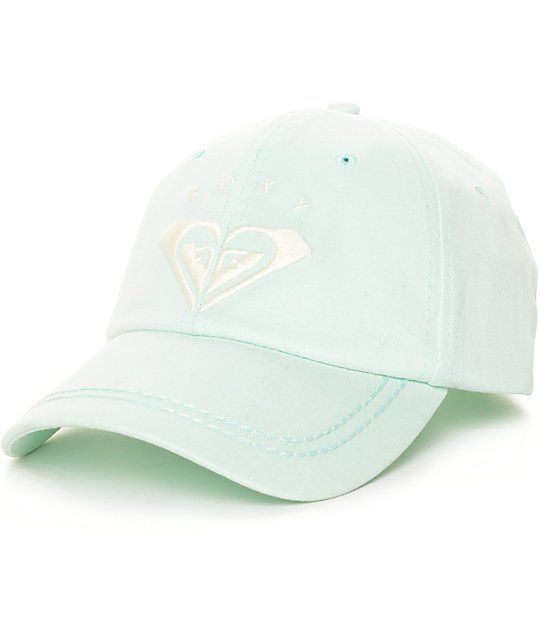 133a6d56ea8a8 Take team Roxy to State with this Extra Innings mint baseball hat by Roxy. A
