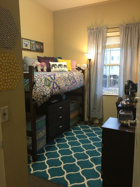 Cool College Dorm Rooms: 14 Cool Ways To Decorate A Single Dorm Room