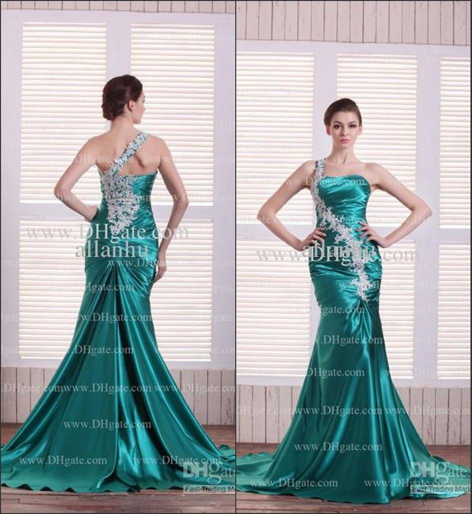 mermaid green prom dress | Prom dress | Pinterest | Prom, Mermaid ...