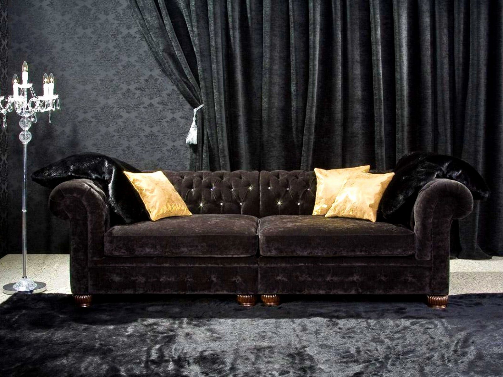 Pin On Velvet Sofa