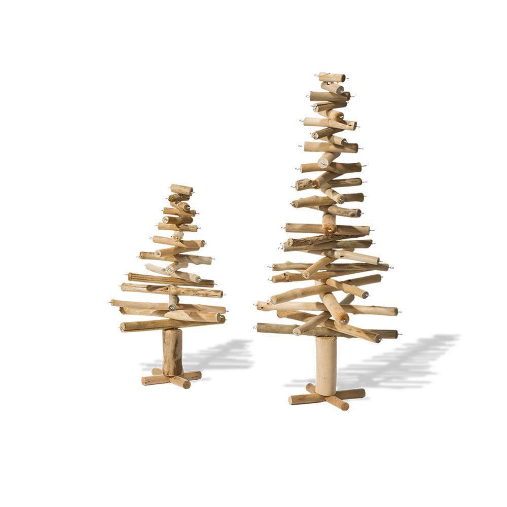 Weihnachtsbaum holz natur