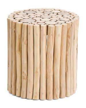 Teak Wood Stool | Comprar en 2019