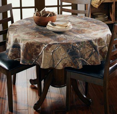 "new realtree ap™ camo tablecloth – 56"" round #realtreecamo | camo"