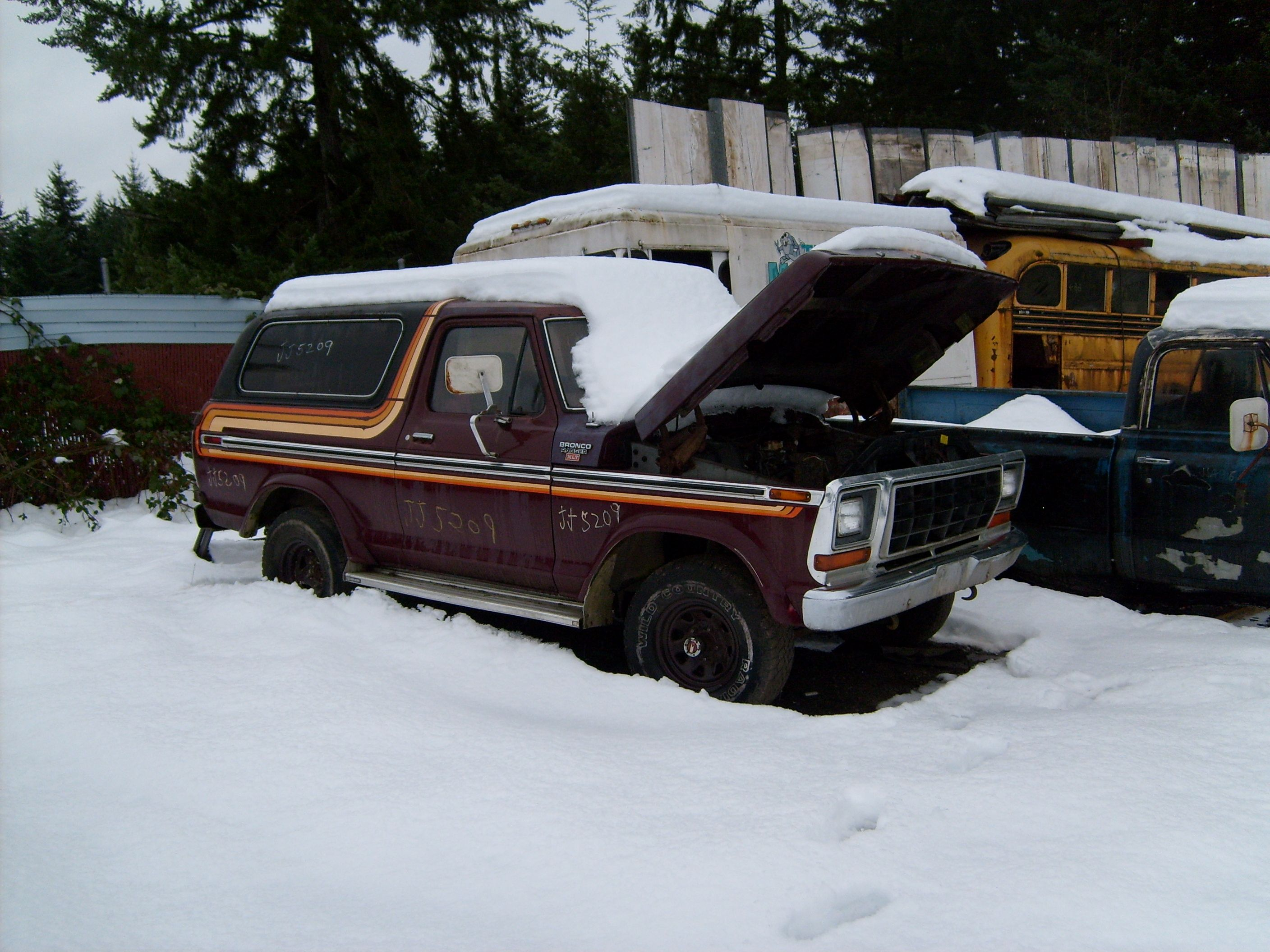 vintage ford bronco suvs