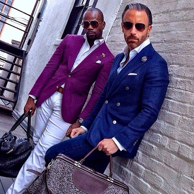 "mnswrmagazine: "" Be inspired by @koreyfrancois // MNSWR style inspiration    #menswear #mensfashion #mensstyle #style #sprezzatura #sprezza #mentrend #menwithstyle #gentlemen #bespoke #mnswr #fashion..."