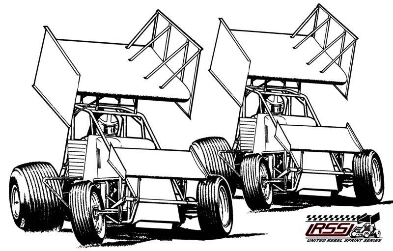 Sprint Car Coloring Pages Cars Coloring Pages Sprint Cars Race Car Coloring Pages