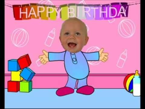 Baby Dancing Funny Happy Birthday Video Card – Animated Funny Birthday Card
