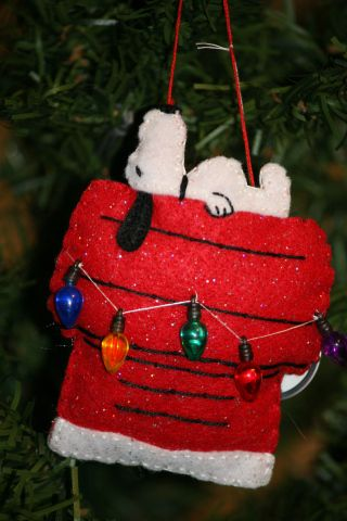 It's Christmas all year through! #feltcreations