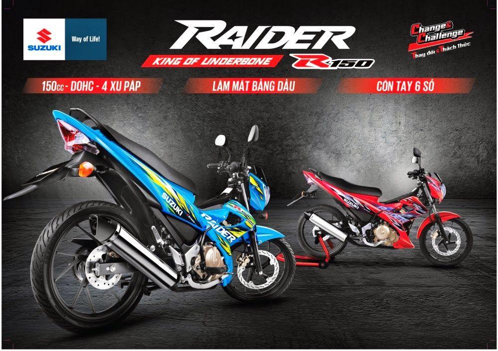 """Cơ hội trải nghiệm """"thần gió"""" Raider tại Vietnam Motorbike Festival 2014 - Xehot360 - Chia sẽ thông tin mới HOT nhất về Xe Máy & Motor"""