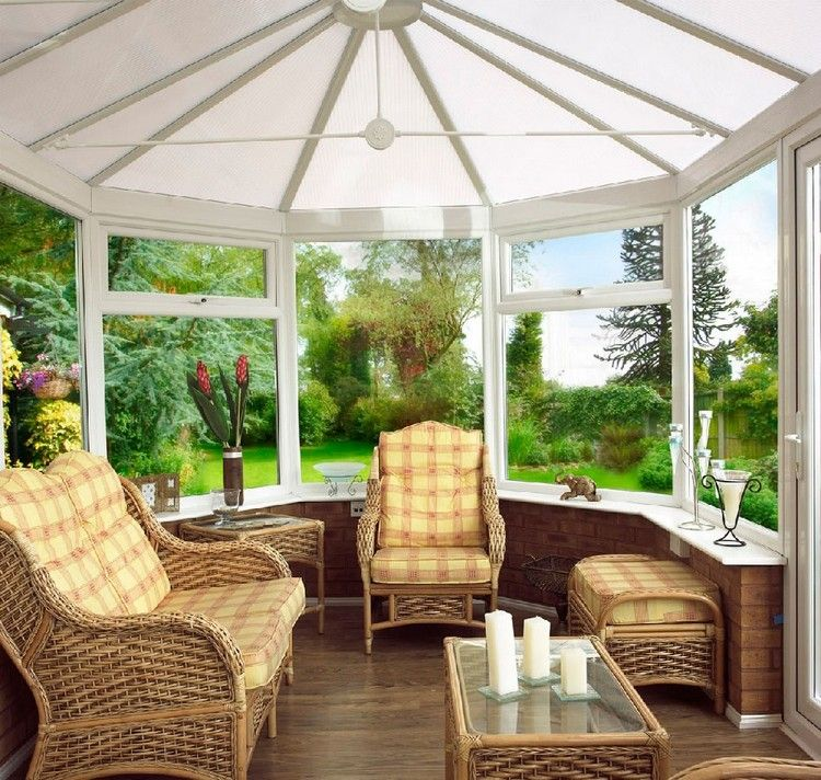 Möbel Wintergarten rattan möbel und laminatboden im wintergarten winter garden