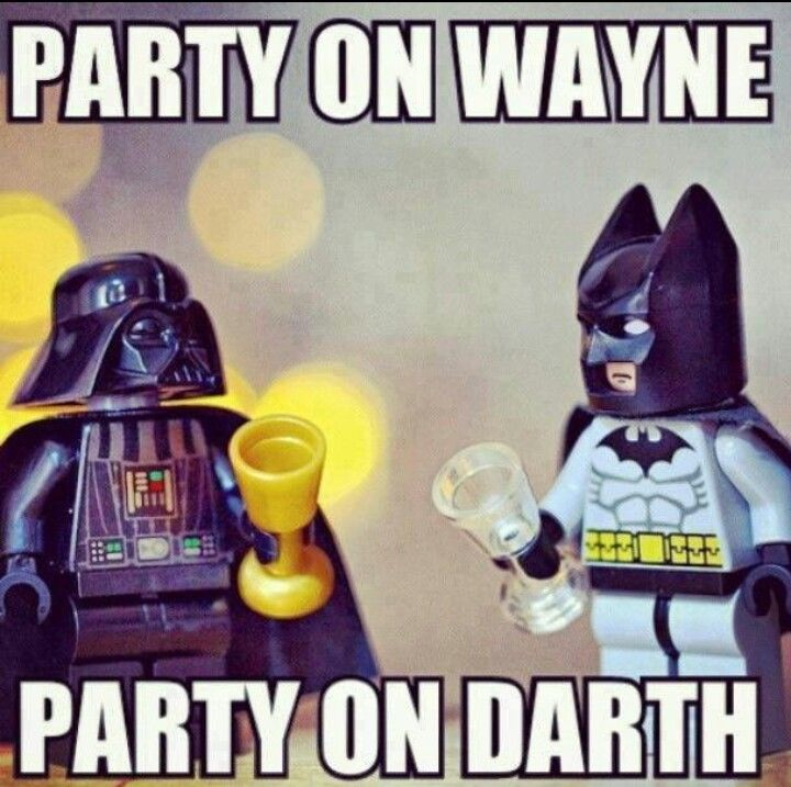 Batman And Darth Vader Happy Birthday Funny Funny Pictures