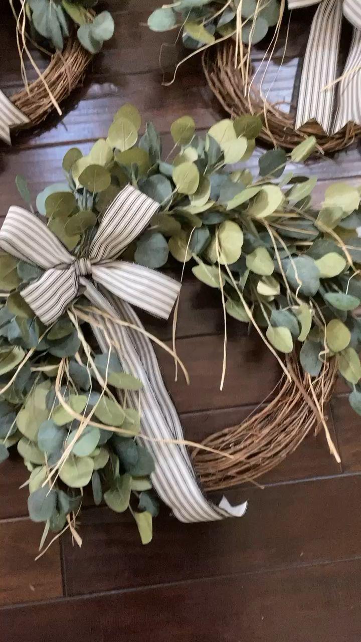 Photo of Eucalyptus peasant wreath