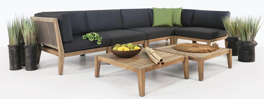 Ventura Teak Outdoor Sectional Teak Outdoor Furniture Teak Furniture Set Outdoor Furniture