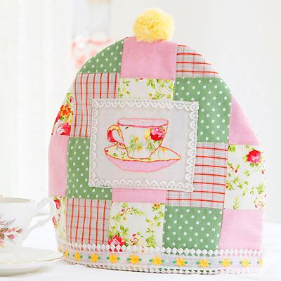 Sew your own tea cosy This project is taken from 'Cute and Easy ... : quilted tea cosy - Adamdwight.com