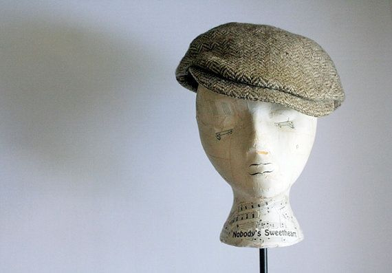 Vintage Wool Cap Made by Hanna Hats for LL Bean - Made In Ireland, St. Patrick's…