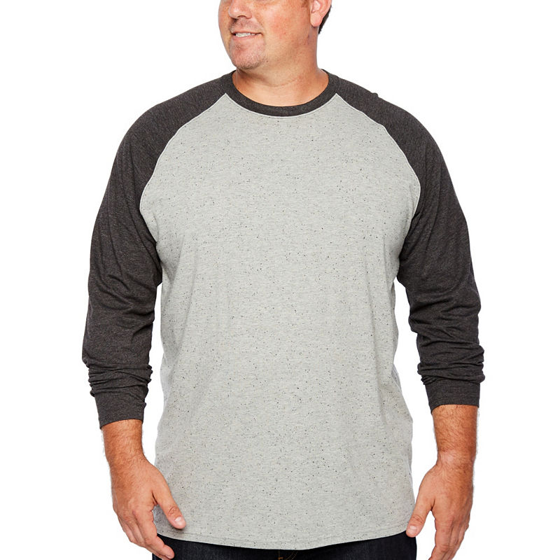 67f54668c1 The Foundry Big   Tall Supply Co. Long Sleeve Crew Neck T-Shirt-Big and Tall