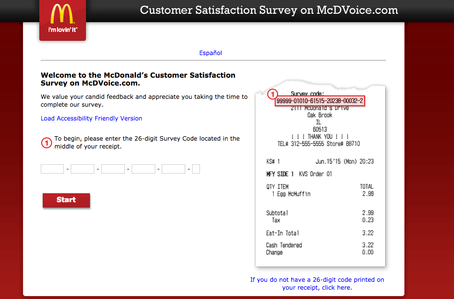 Here McdvoiceCom Survey Details Any Questions In Regards To Www
