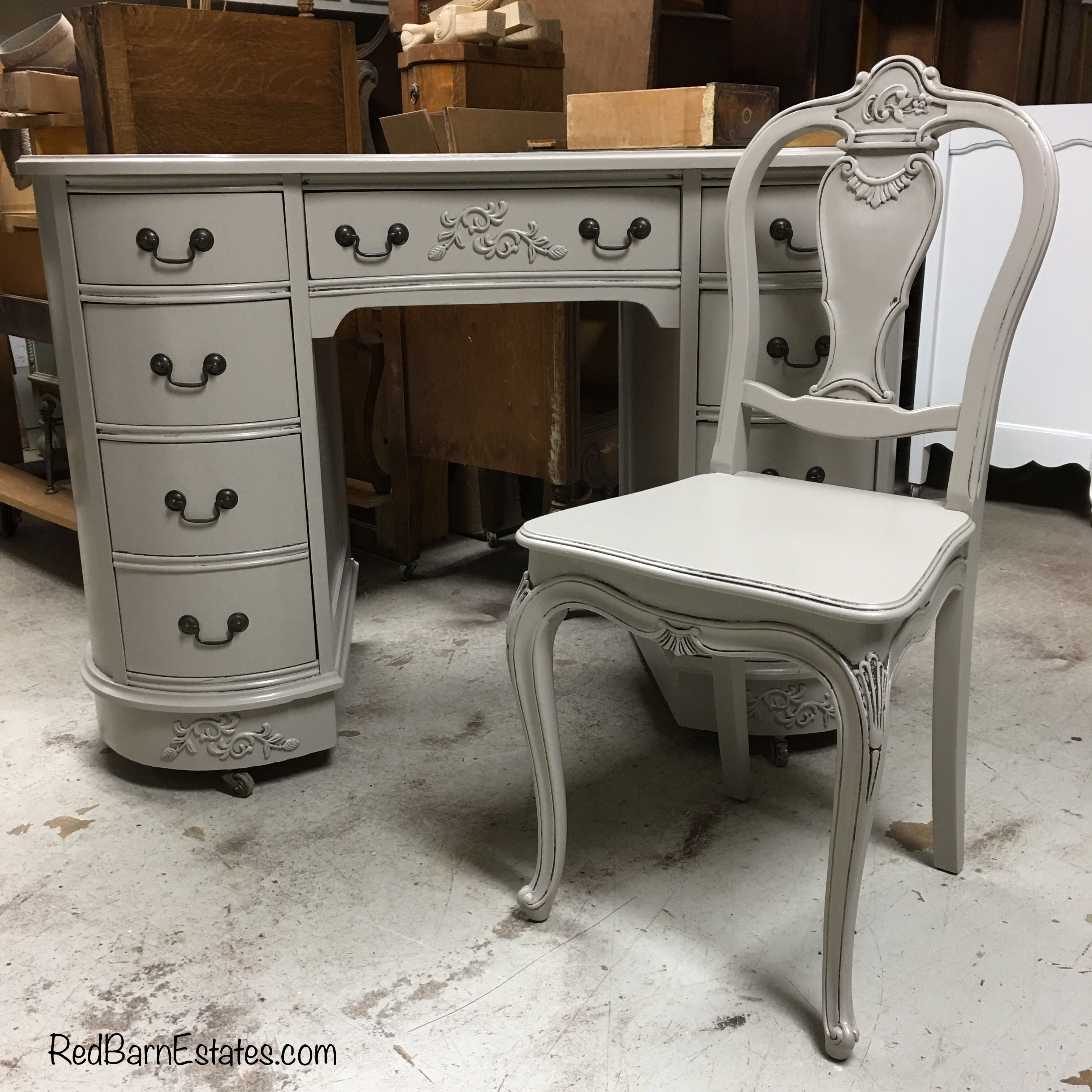Buy an antique desk from Red Barn Estates we restore