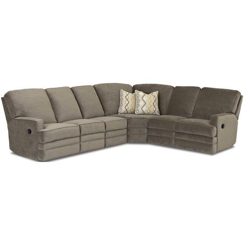 Chapman Casual Reclining Sectional Sofa By Klaussner