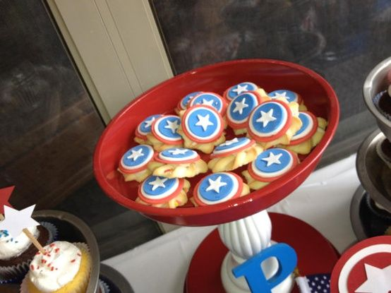 Captain America Themed Birthday Party | Our Knight Life