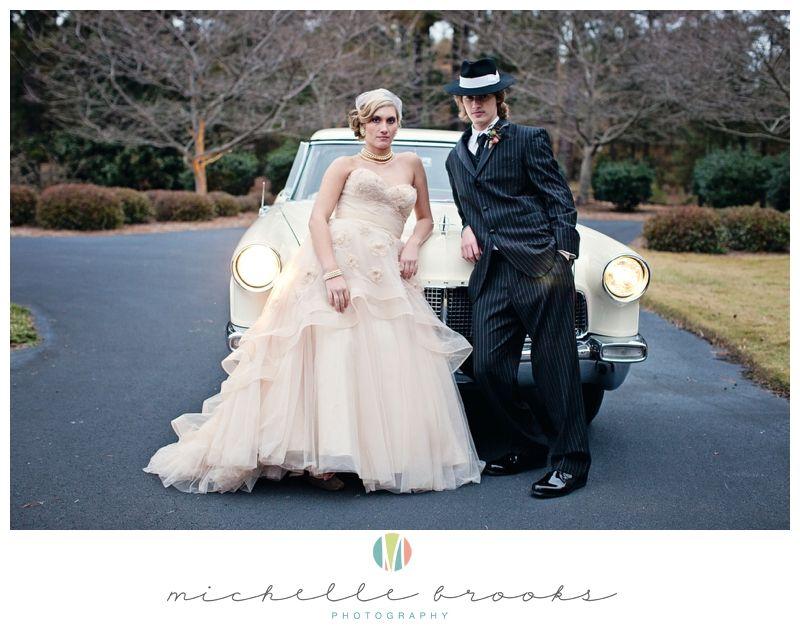 Bonnie Clyde Themed Wedding Shoot 37 Wedding Photography