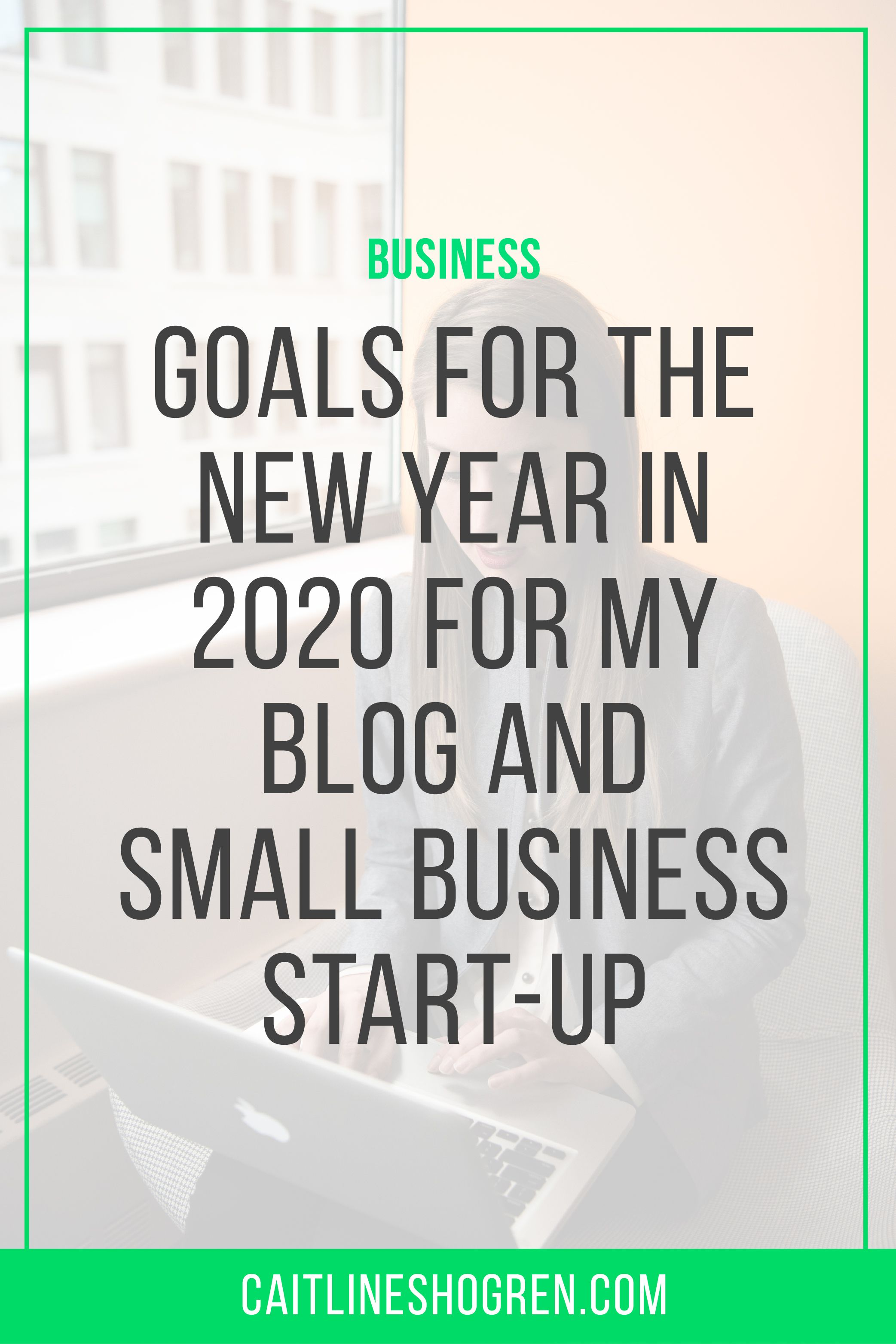 My small business startup goals for my business blog