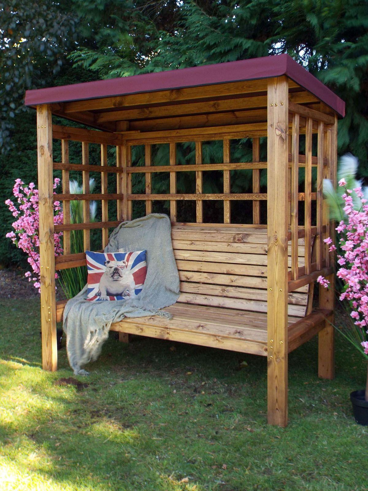 Arbours With Seats In 2020 Garden Arbour Seat Wooden Bench Outdoor Wooden Arbor