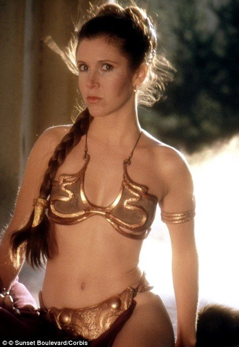 Star Wars cast confirmed as Carrie Fisher, Harrison Ford ... Old Star Wars Princess Leia