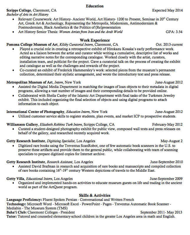 Sample Education Intern Resume  HttpExampleresumecvOrgSample