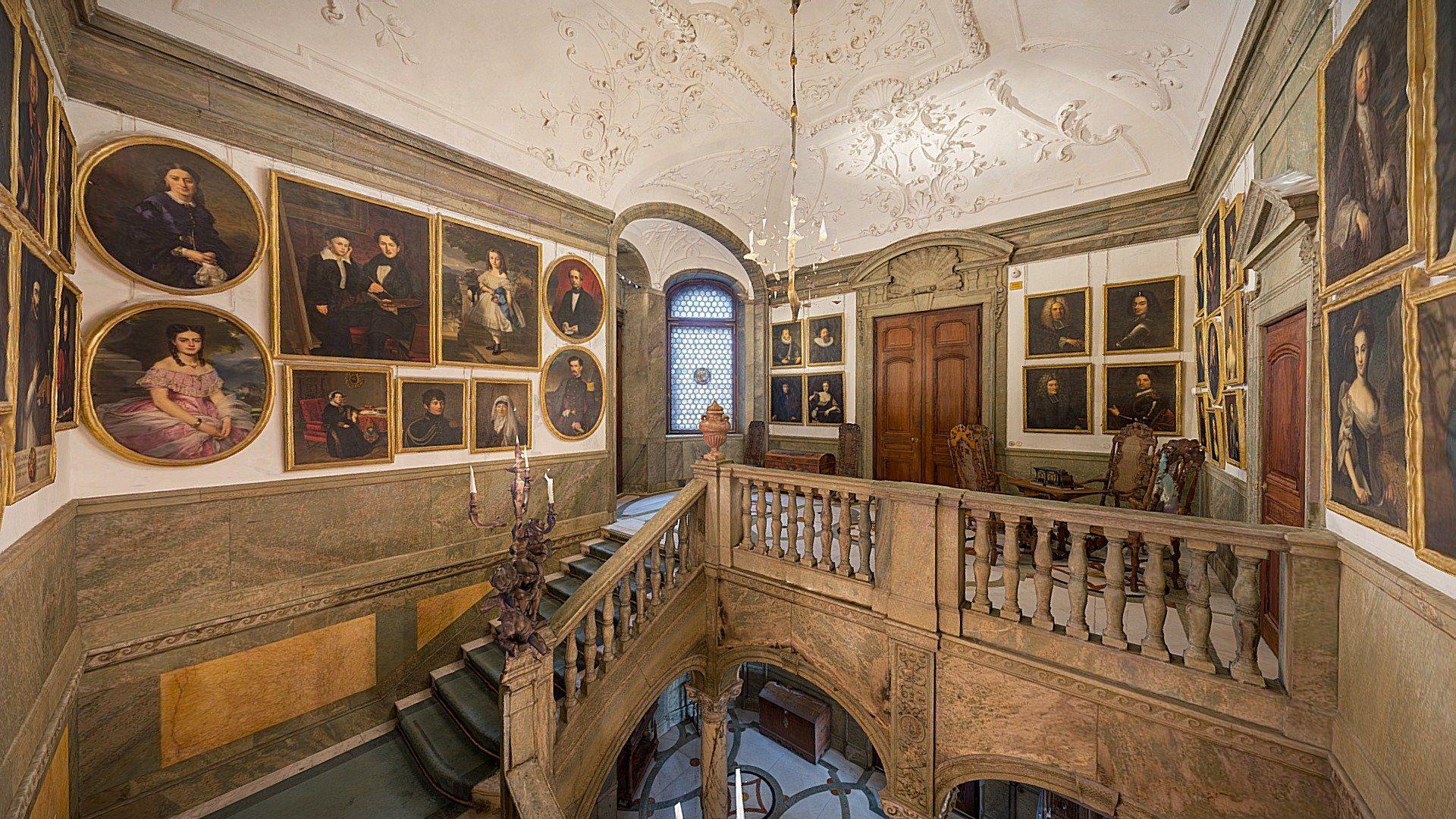 The Upper Vestibule by The Hallwyl Museum (Hallwylska museet