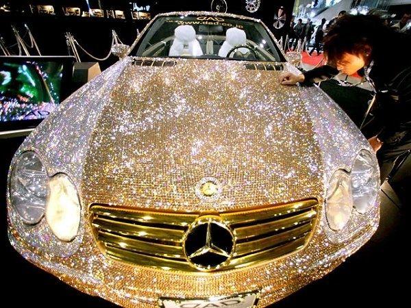 Community Post 10 Diamond Encrusted Items Beautiful Cars Luxury Cars Amazing Cars