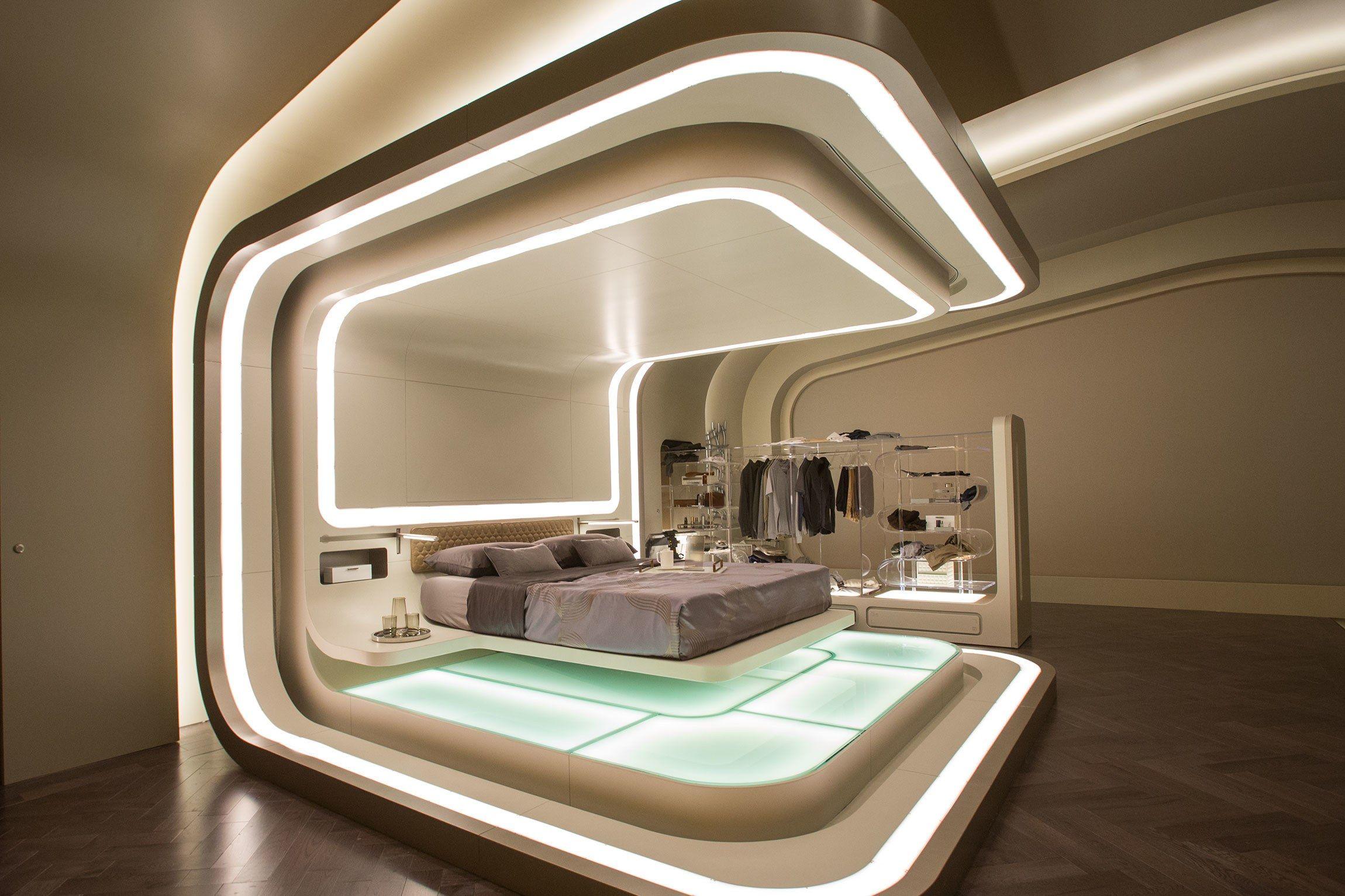 Schlafzimmer Einrichtung · Moderne Einrichtung · Passengers Set Design  Photos | Architectural Digest