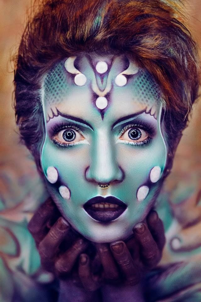 Maquillage Artistique Halloween.Pin On Psychedelique Art