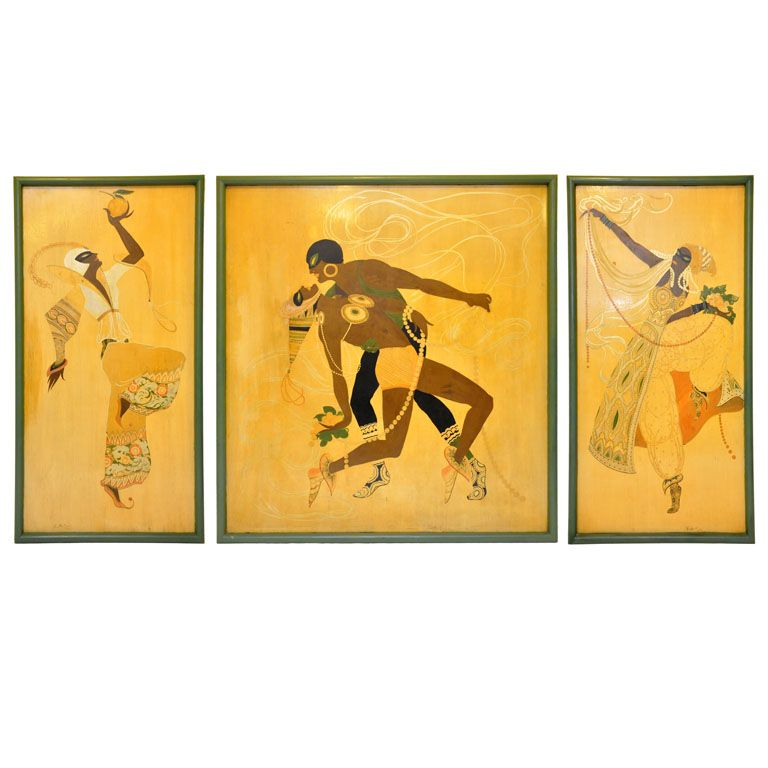 """""""Les Ballets Russes"""" Tripec commissioned for the 1933 World's Fair in Chicago"""