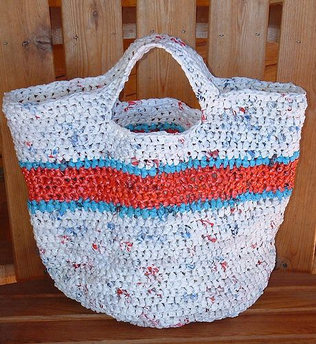 Ravelry: Recycled Round Plarn Tote Bag pattern by Cindy RecycleCindy ...