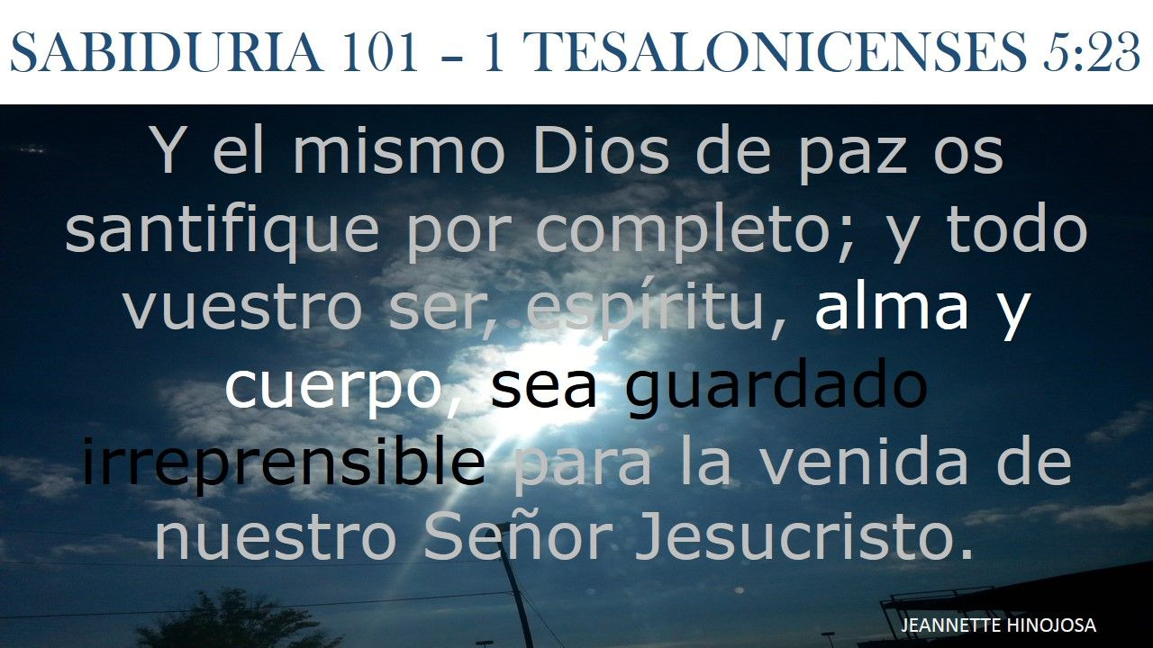 from Saul dating 1 thessalonians