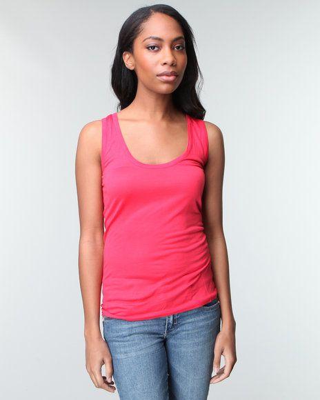 Basic Essentials Women Slash Tank Top - Tops | IndiaViolet Shop,$5.99