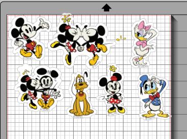 Wonder Is Paper - Compartir con Silhouette: Figuras de Disney. Print and cut