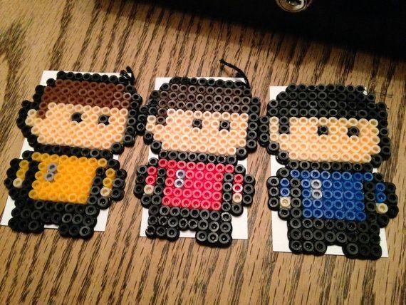 Star Trek Perler Bead Set by UniqueGeeksArt on Etsy   Hama Beads ...