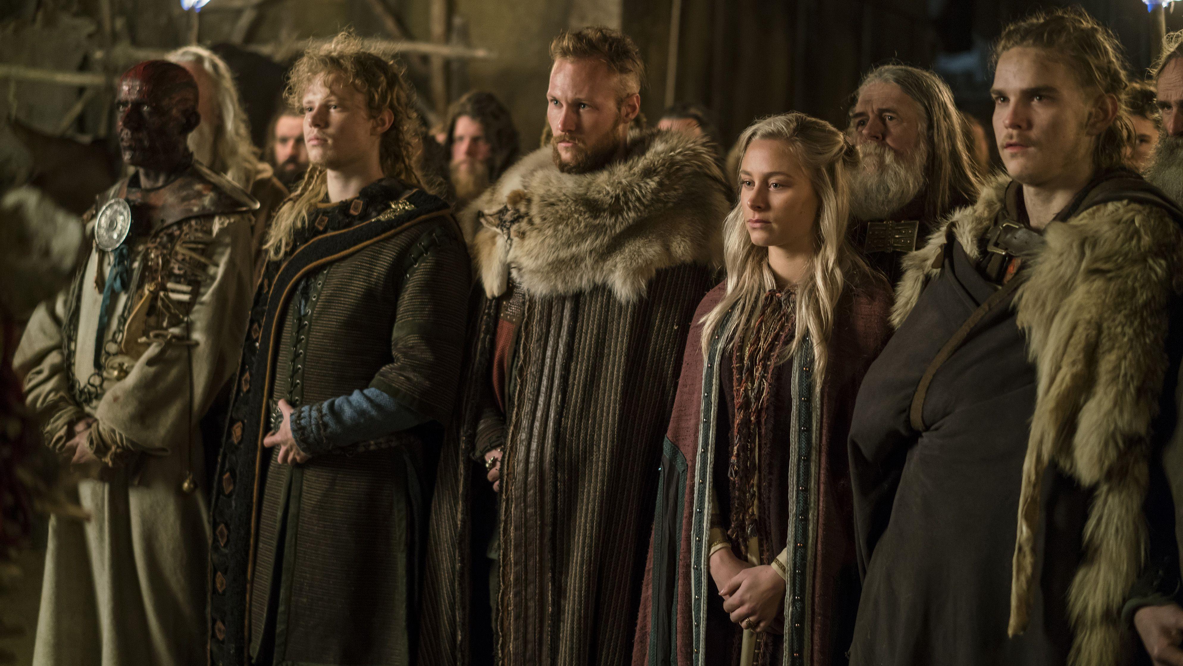 Vikings Ubbe With Hvitserk And Sigurd Vikings Tv Vikings Tv