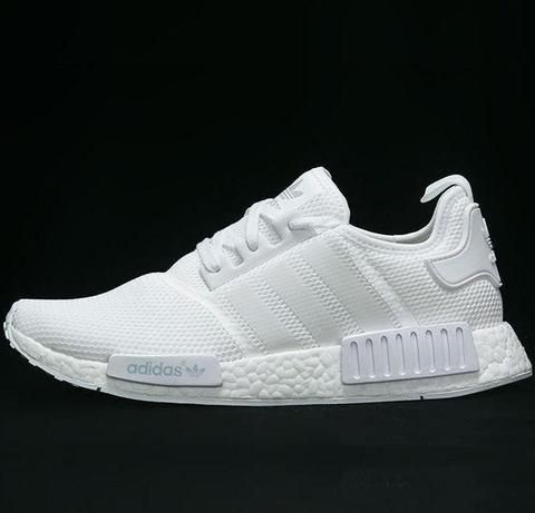 ADIDAS Women Men NMD Running Sport Casual Shoes Sneakers White